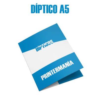 impresion folleto diptico A5