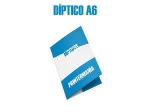 diptico A6 publicitario