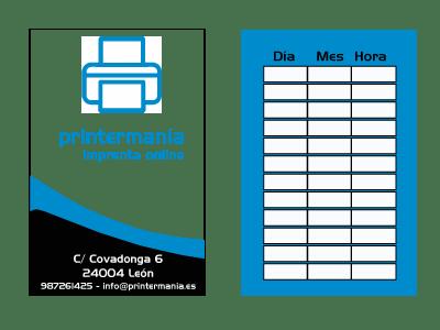 Impresión online de Tarjetas de citas personalizadas Printermanía