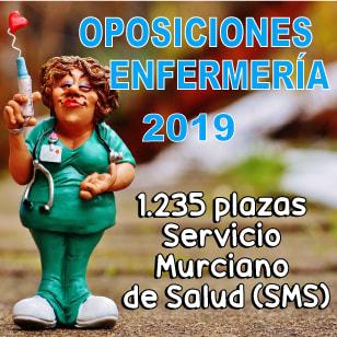 Oposiciones Plazas Enfermería Murcia