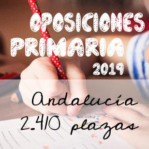 Oposiciones Maestros de Primaria en Andalucía 2019