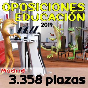 Oposiciones Maestro Comunidad Madrid