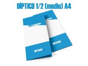 impresion dipticos medio A4