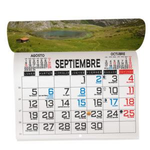 calendario revista personalizado con tus fotos