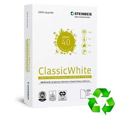 Folios papel reciclado