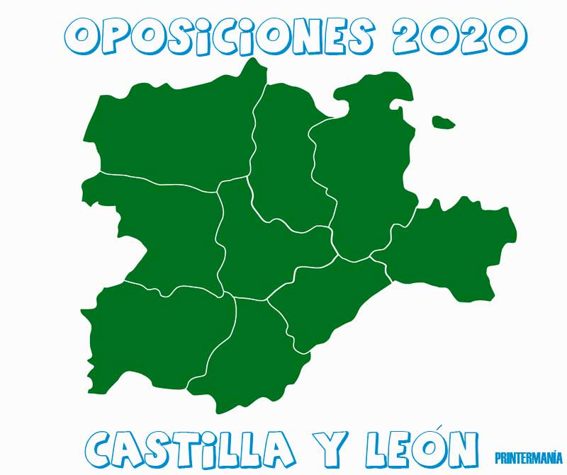 Oposiciones 2020 Castilla y León