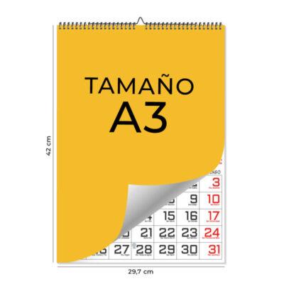 Calendarios de pared A3 – 13 Láminas Ingles