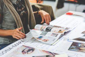 Encuadernación lomo tipo revista