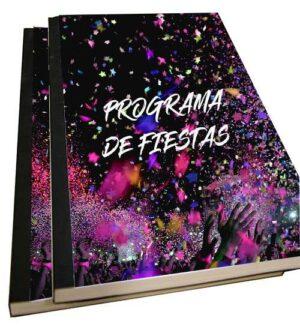 libros de fiestas encolado